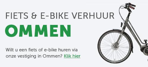 Fiets & E-bike verhuur Ommen