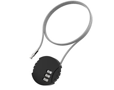Urban Iki Rear seat cable lock