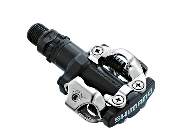 Shimano klikpedalen pd-m 520 zwart