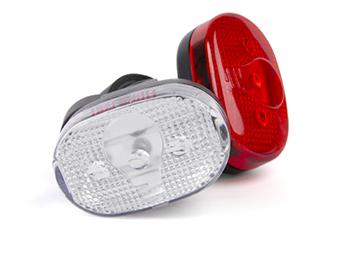 Ikzi  LED Verlichtingsset wit rood