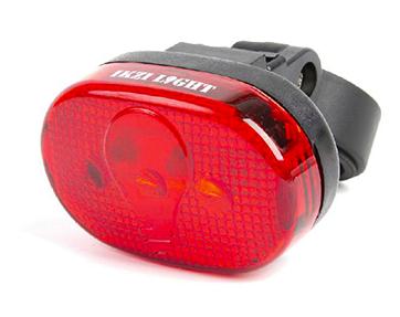 Ikzi lamp 3LED rood
