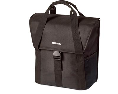 Basil Go Single Bag Zwart