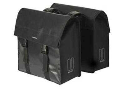 Basil Urban Load Double Bag Zwart