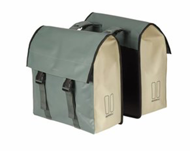 Basil Urban Load Double Bag Groen