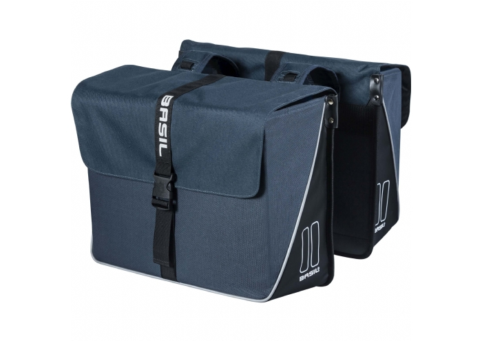Basil Forte Double Bag Blauw