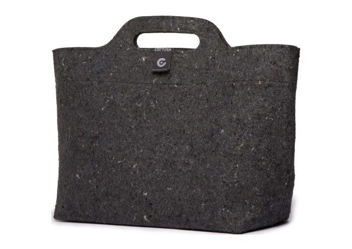 Cortina Sofia Shopper Bag Black