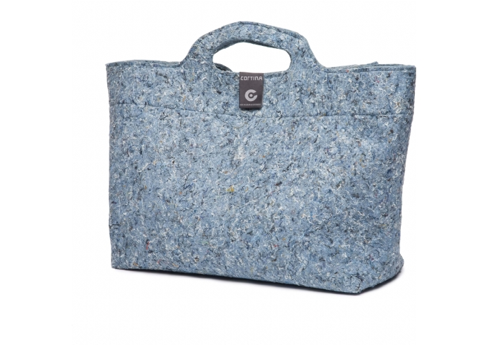 Cortina Sofia Shopper Bag Denim Blue